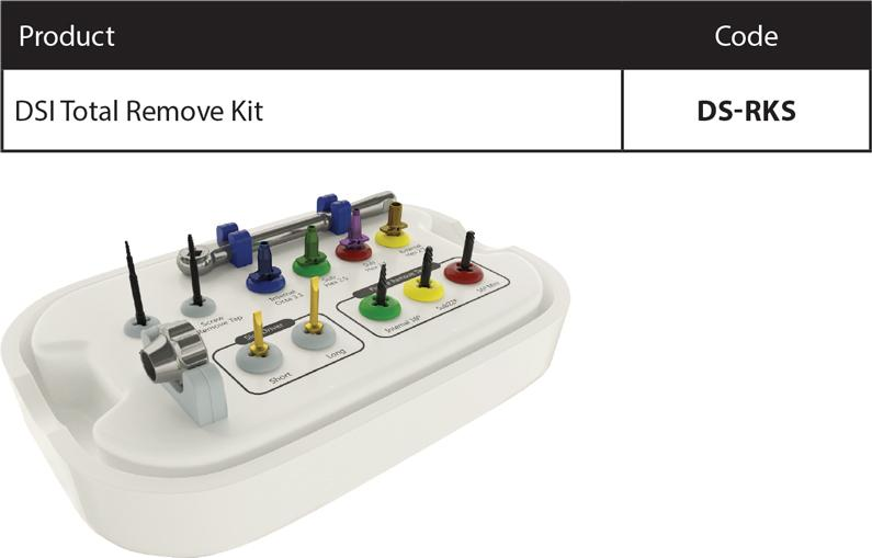 2Surgical-kit Implant/Screw Removal Set