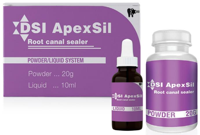 ApexSil-Powder ApexSil Sealer Resin