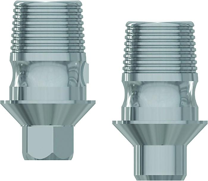 M-TiBase Abutments for CAD/CAM