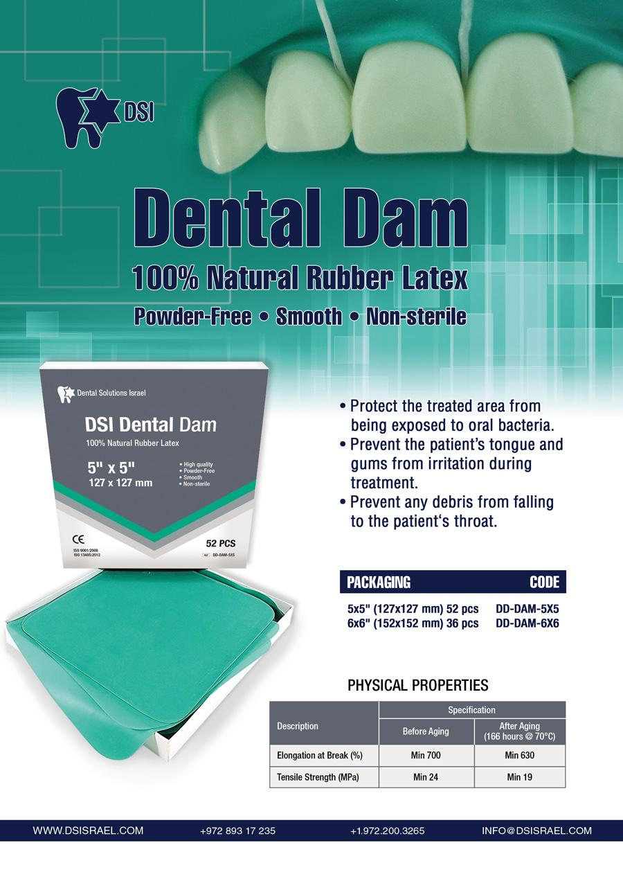 DentalDam-Flyer Rubber Dam